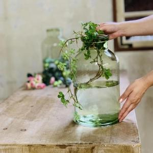 クラシカルガラス フラワーベース